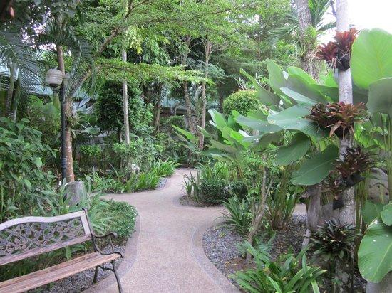 Bangtao Kanita House: grounds