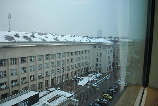Grand Hotel Sofia: View from 7th floor