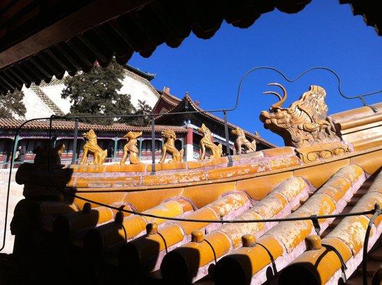 Gran Corredor del Palacio de Verano: Un tetto di un tempio