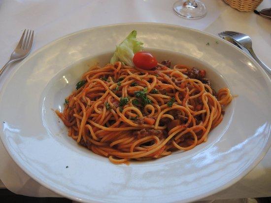 Giusi's Ristorante Pizzeria: Spaghetti Bolognese