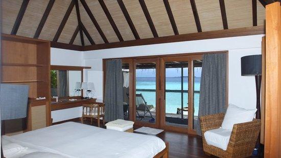 Gangehi Island Resort: Il mare dalla camera