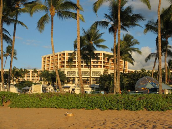 Grand Wailea - A Waldorf Astoria Resort: Hotel from the beach