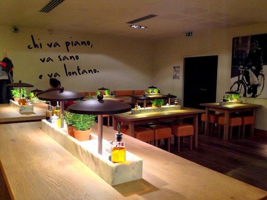 La salle de Vapiano