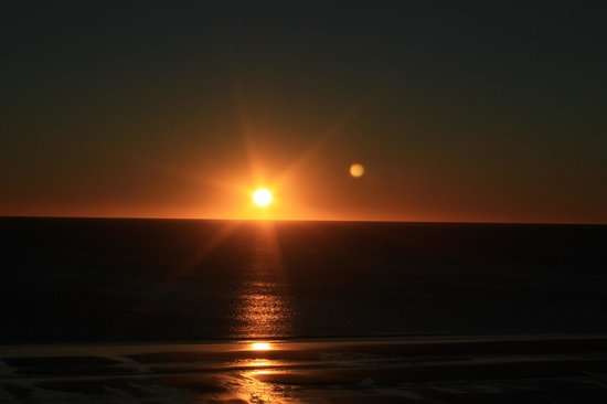 Dazzler Puerto Madryn: El amanecer en todo su esplendor, desde una Canon Eos
