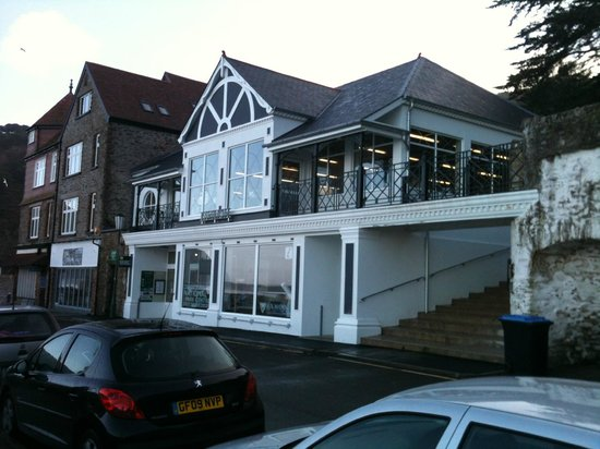 The Pavilion Dining Room: Lynmouth Pavilion