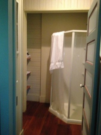 BlissWood Bed and Breakfast Ranch: Second bathroom/shower area