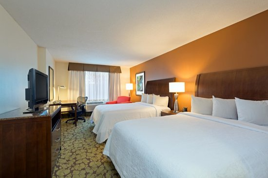 Hilton Garden Inn Orlando at SeaWorld: Newly renovated room with two Queen Beds