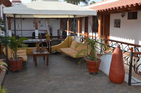 Hotel Oro Viejo: Upper area