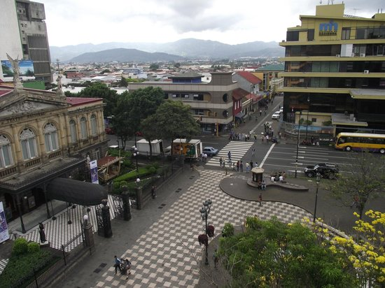 Gran Hotel Costa Rica: VIEW FROM 5TH FLOOR DINING AREA