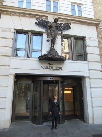 The Nadler Soho: Main entrance