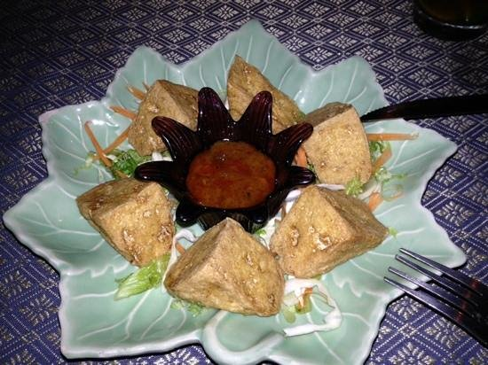 Green Chilli Restaurant: fried tofu