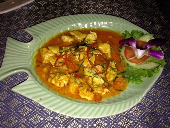 Green Chilli Restaurant: panang curry