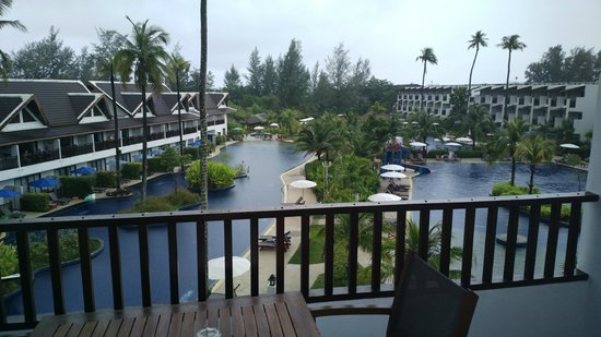 Sunwing Resort - Kamala Beach: Vy från vår rum