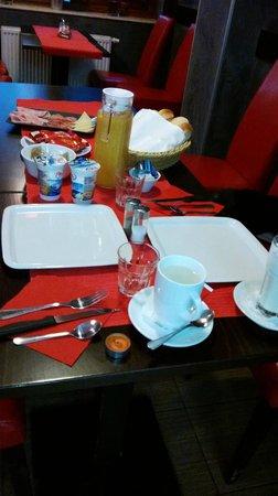 Hotel Karlstejn: colazione