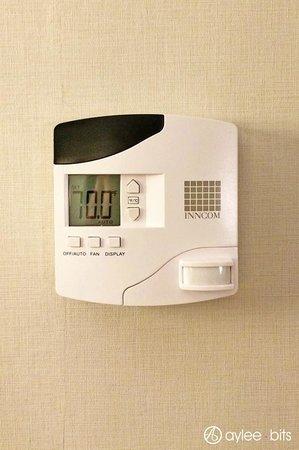 Holiday Inn Express & Suites Boston - Cambridge: Thermostat