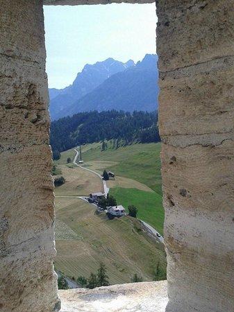 Schloss Tarasp: dagli spalti del castello