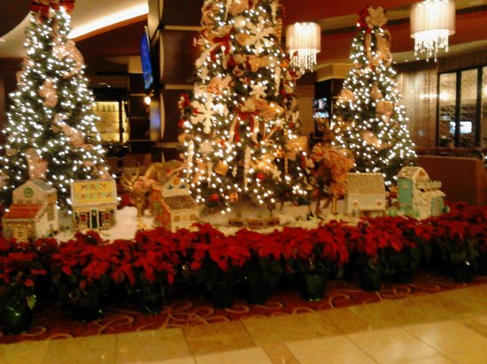 New Orleans Marriott: lobby