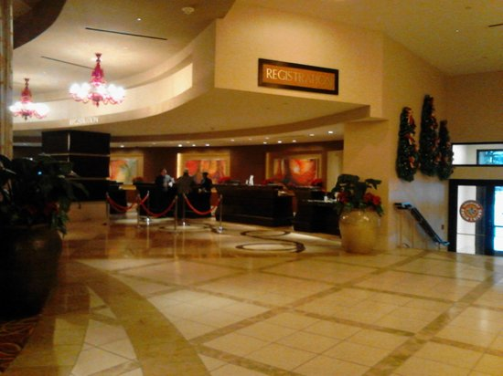 New Orleans Marriott : check in area
