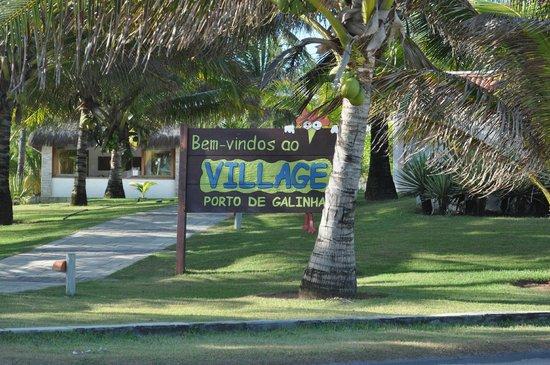 Village Porto de Galinhas: Entrada do resort pela praia