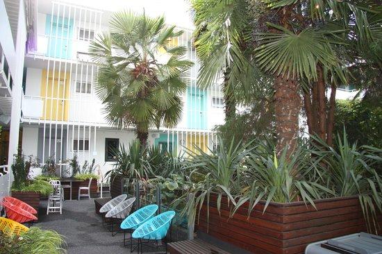 The Burrard: courtyard