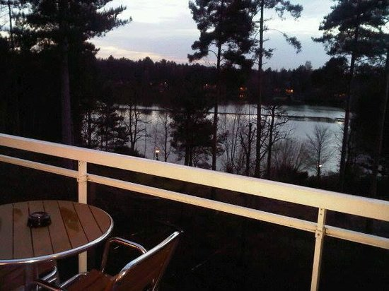Center Parcs Elveden Forest: View from balcony