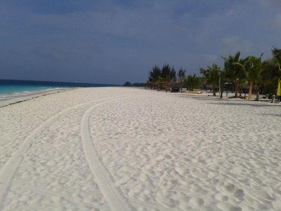 Kendwa Rocks Beach Hotel : spiaggia kendwa verso destra