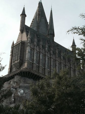 The Wizarding World of Harry Potter : A view of the castle
