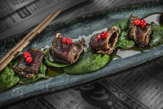 East West -Sushi, Grill, Lounge: Venison tataki
