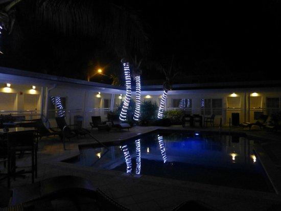 Orchid Key Inn : The pool