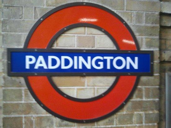 Alexandra Hotel: Paddington Underground Station