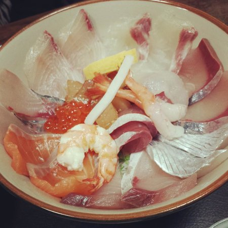 Kaisen Izutsu : 海鮮丼