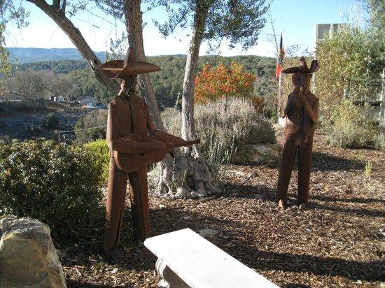The Inn at Croad Vineyards: Garden