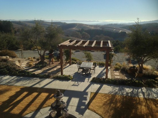 The Inn at Croad Vineyards: View from balcony