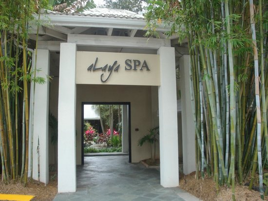 Entrance To The Spa Photo De Bonaventure Resort Amp Spa Weston Tripadvisor