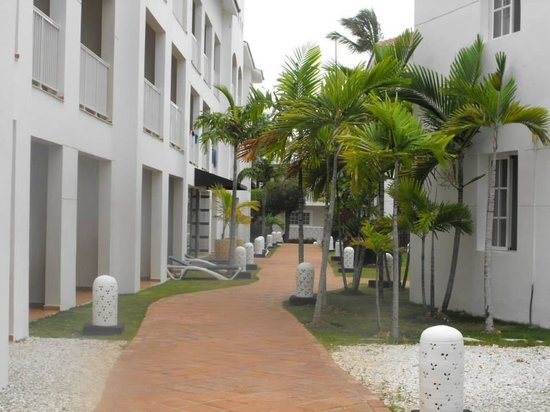 Be Live Collection Punta Cana : In between the guest rooms.