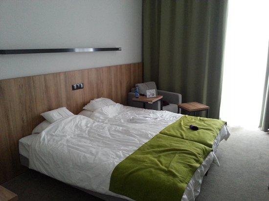 Hotel Bonifacio : Our hotel room