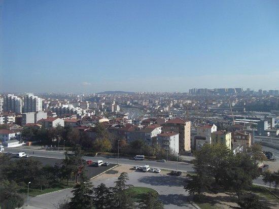 Divan Istanbul Asia : Oda manzarası