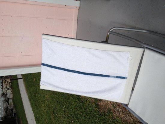 La Siesta Resort & Marina: The beach towel- what they call it