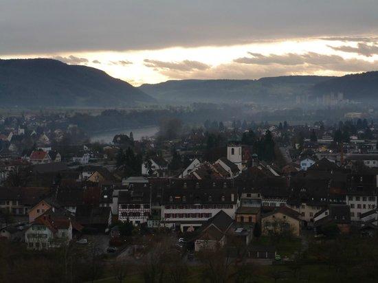 Hotel zur Therme: Blick vom Turm Restaurant richtung Osten