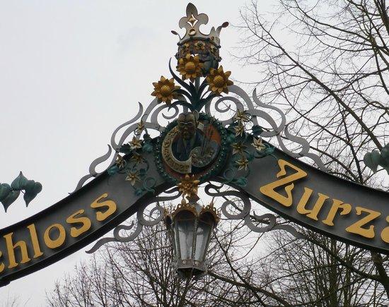 Hotel zur Therme: Tor zum Schloss Zurzach. Leider immer noch verschlossen