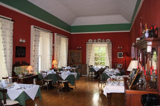 Mallmore Country House: Beautiful dining room
