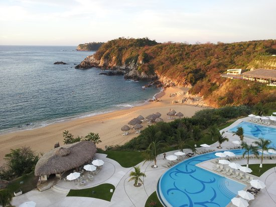 Secrets Huatulco Resort & Spa : view from room