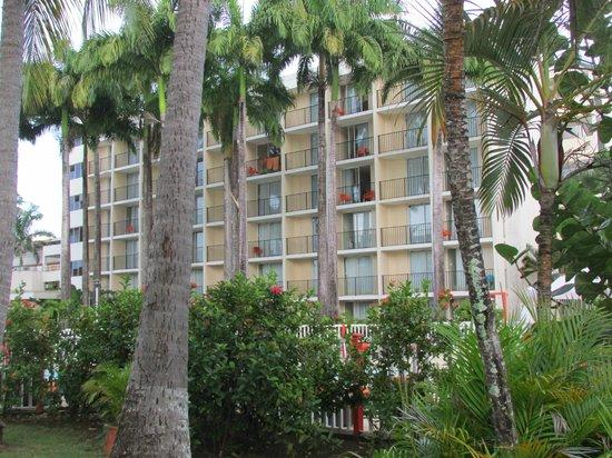 Karibea Beach Resort Gosier: Vue hôtel Salako