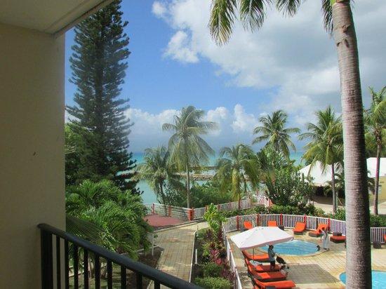 Karibea Beach Resort Gosier: Vue du balcon