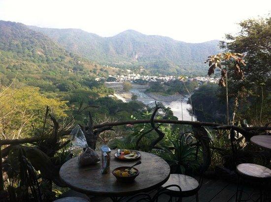 El Divisadero: vista del pueblo de jalcomulco