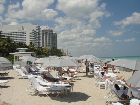 Fontainebleau Miami Beach : Praia