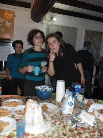 Il Nosadillo: Ciocco party: making whipped cream