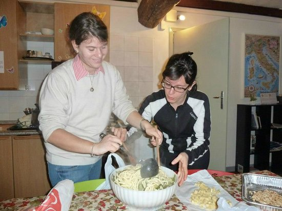Il Nosadillo: Italian style: making real pasta in the oven