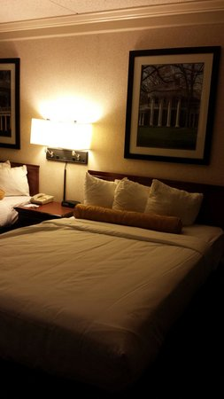Cavalier Inn at the University of Virginia: Double beds