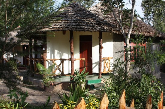 The Vijiji Center Lodge & Safari: Traditional African-style guesthouses